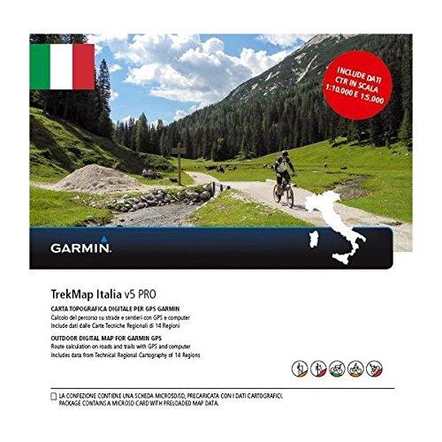 Garmin MicroSD-/SD-Speicherkarte: TrekMap Italyv5 PRO