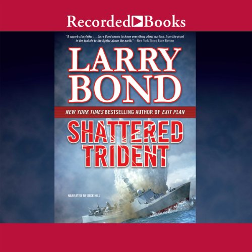 Shattered Trident audiobook cover art
