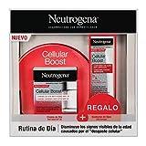 Neutrogena Cellular Boost Anti-edad, Pack Crema de Día SPF20 + Contorno de Ojos Anti-arrugas...