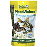 Tetra PlecoWafers 3.03 Ounces, Nutritionally Balanced Fish Food For Algae Eaters (679345)