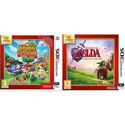 Animal Crossing New Leaf Welcome Amiibo SELECTS & The Legend Of Zelda: Ocarina Of Time (Nintendo Selects)