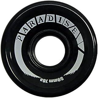 PARADISE 59mm 78A 滑板巡洋舰车轮 - 黑色 - 4 轮套装