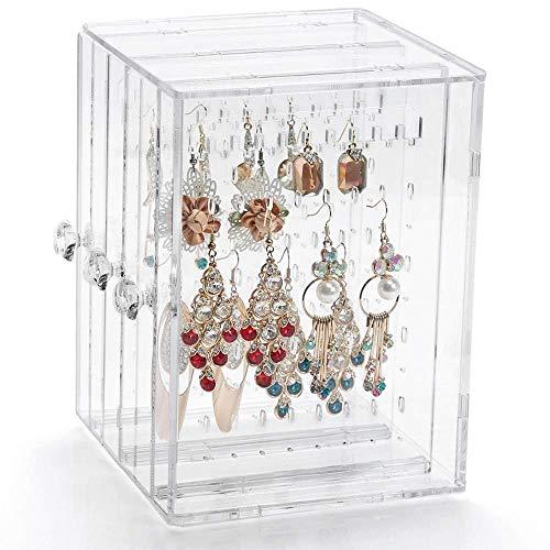 Schmuckständer Ohrringhalter Schmuckhalter für Ohrringe Ketten Armband Schmuck Schmuckkasten Damen Aufbewahrungsbox Aufbewahrung Kettenständer Ohrringständer Schmuckkästchen