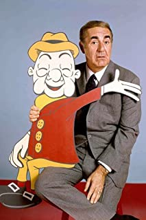 Jim Backus with Mr Mister Magoo cartoon character 11x17 Mini Poster