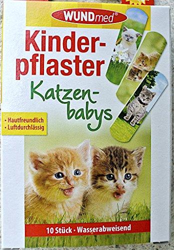 Kinderpflaster Katzenbabys 10 Stück