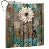 Amonee-YL Rustic Floral Butterfly White Flower...