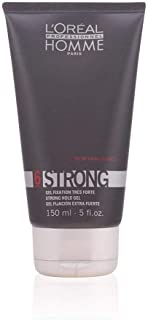 L'Oreal Homme Strong Hold Gel 6, 150ml