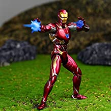 PAPIN Tony Stark Action Figure 6 inch Hot Toys Comic Legends Figures Christmas Halloween Mini Small Toy Birthday Collectable Gift Collectibles Big Large Collectible Gifts for Little Kids Baby Boys