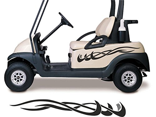Golf Cart Decals Side by Side Go Kart Stickers Auto Truck Racing Graphics GC98