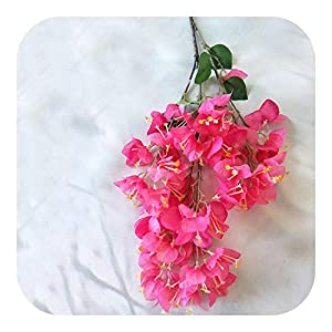 MEIshop Artificial Bougainvillea Christmas Birthday Party Bottle Flower Wedding Home Photography Decorationsimulation