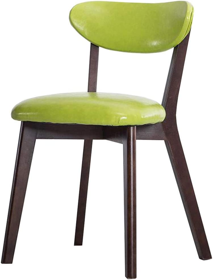 Dall Dining Chair Wood Frame Super special price Table Backrest Mak Seattle Mall PU Cushion