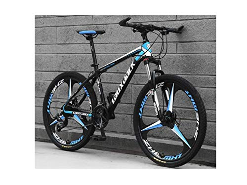 Bicicletta da 26 Pollici, Ruota Integrale, Sospensione Unisex, Mountain Bike, 21 Velocità, 24 Velocità, 27 Velocità, 30 Velocità, Pista da Golf, Acciaio Inossidabile, Doppio Freno, Doppio Disco