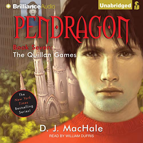 The Quillan Games audiobook cover art
