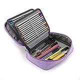 Astuccio Di 72matite colorate professionale grande capacità astuccio multifunzionale borsa a matita...