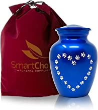 SmartChoice Cremation Pet Urn for Dog or Cat Ashes- Perfect Resting Place for Your Pet (Medium)
