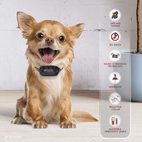 Auto Remote Sound Vibration Barking Collar