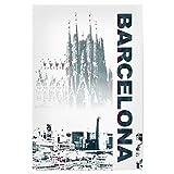 artboxONE Poster 30x20 cm Städte/Barcelona Barcelona &
