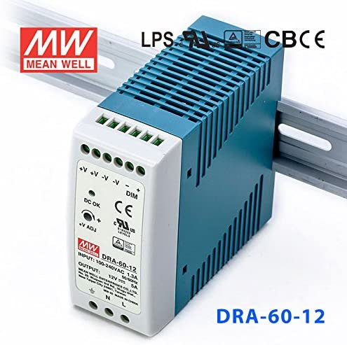 Meanwell Ranking TOP11 Seattle Mall DRA-60-12 Power Supply 5A 12V - 60W