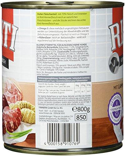 Rinti Lamm, 12er Pack (12 x 800 g) - 2