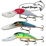 Angel-Berger 3 Minnow Deep Diving Wobbler