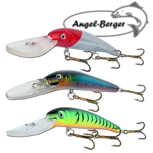 Angel-Berger 3 Minnow Deep Diving Wobbler