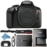 Canon EOS Rebel T6 18MP Digital SLR Camera Retail Packaging Bundle (Body)
