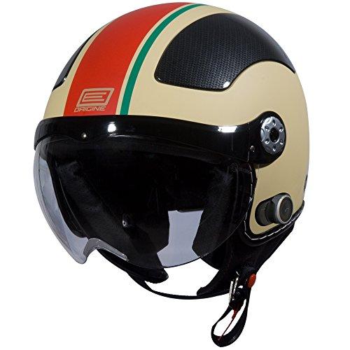 Origine O528B Pilota 3/4 Helmet with Blinc Bluetooth (Flat...