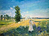 Digitaldruck/Poster Claude Monet - La Promenade