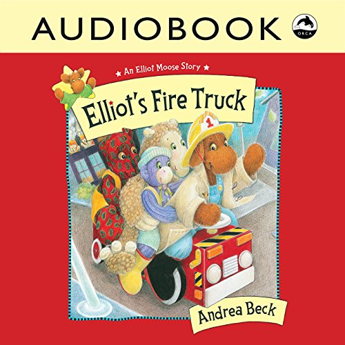 Elliot's Fire Truck audiobook cover art