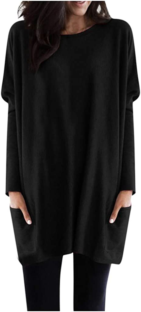 TWGONE Tunic Tops for Leggings Women Sleeve sold out Size Long Super intense SALE Plus w