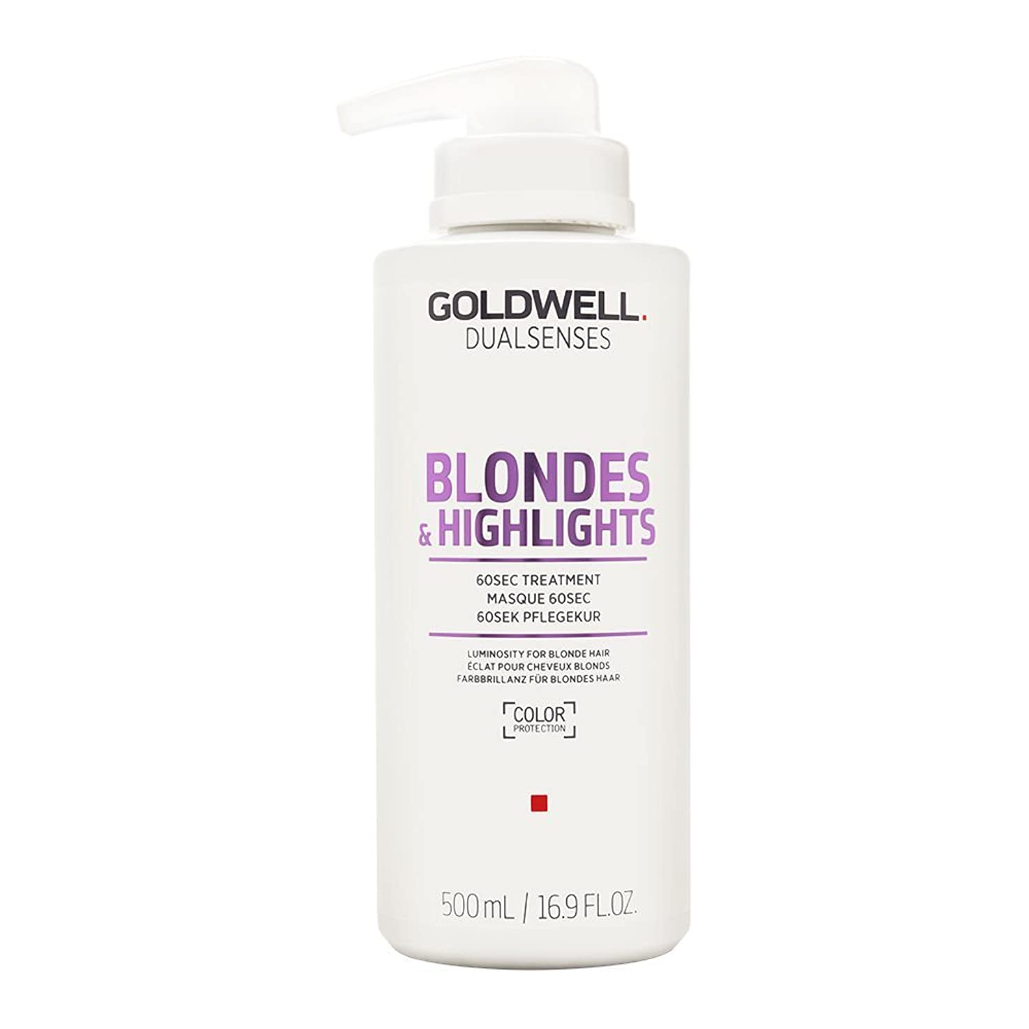 滞在症状会うゴールドウェル Dual Senses Blondes & Highlights 60SEC Treatment (Luminosity For Blonde Hair) 500ml/16.9oz並行輸入品