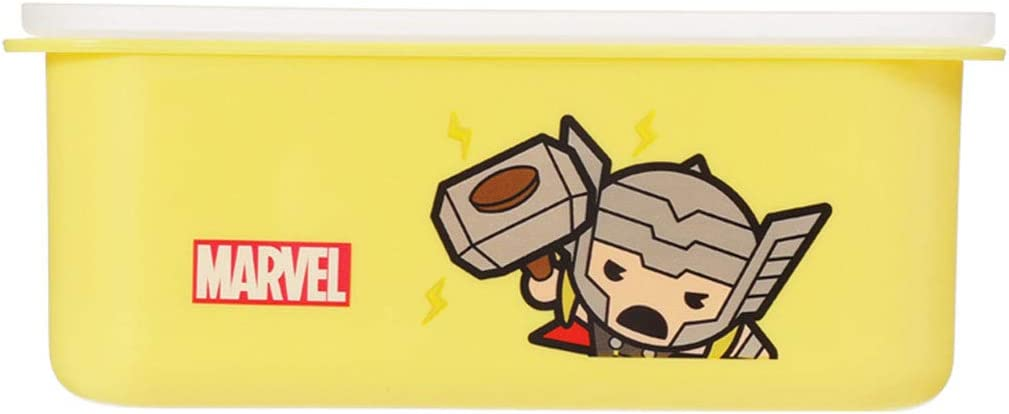 MINISO Max 89% OFF Marvel Bento Lunch Box Leakproof BPA-FREE Manufacturer direct delivery Portable 32oz F