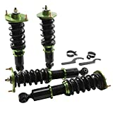 Coilover Struts Spring Shocks Assembly Adjustable Strut Shock Suspension Full Set Kits ECCPP Replacement fit for 1990-2005 Mazda Miata