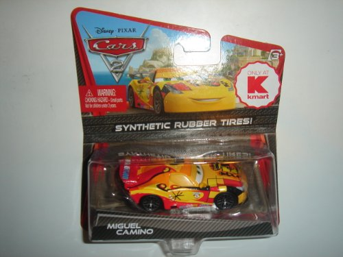 Disney / Pixar CARS 2 Movie Exclusive 155 Die Cast Car with Synthetic Rubber Tires Miguel Camino