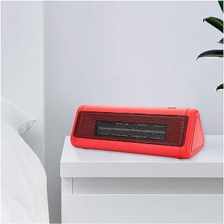 FVAL Radiador eléctrico portátil Protección Ajustable Ventilador del radiador Sala de cerámica contra el radiador y el Ventilador del Ventilador Sobrecalentamiento con asa de Transporte