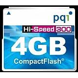 PQI JAPAN PQIブリスターパッケージ 300倍速コンパクトフラッシュカード 4GB 永久保証 BCF30-4G