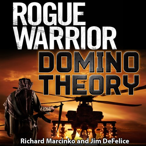 Rogue Warrior: Domino Theory audiobook cover art