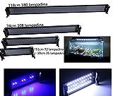 Plafoniera LED Acquario, Può Regolare Lunghezza e Illuminare i Pesci o le Piante in Varie...