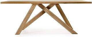 Marque Amazon -Alkove - Hayes - Table moderne en bois massif