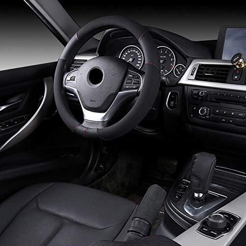 Qwjdsb 38cm Rose Femmes Fille Couverture de Volant de Voiture Respirant , pour Le Style de Voiture BMW