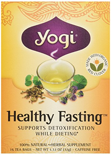 Yogi Organic Healthy Fasting Tea, 16 ct