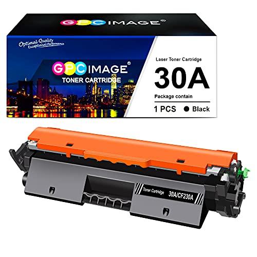 GPC Image 30A Cartuchos de tóner Compatible para HP CF230A 30A -con Chip (1 Negro) para HP Laserjet Pro M203/m203dn/M203dw/MFP M227/M227fdw/M227sdn impresoras