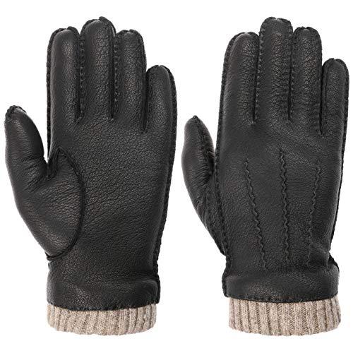 Lipodo Leren Handschoenen met Wollen Voering Heren - voor Herfst/Winter