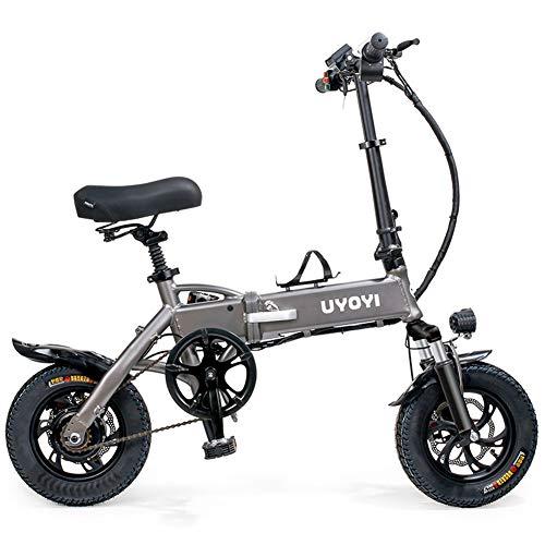 TANCEQI 250W Bicicleta Eléctrica Plegable Montaña Nieve E-Bike Ciclismo De Carretera para...