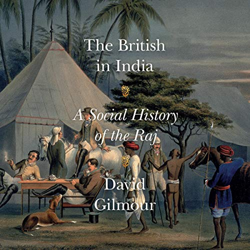 The British in India audiobook cover art