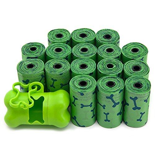 Best Pet Supplies, Inc. Scented Pet Waste / Poop Bag Refills - Green Bones (240 Bags)