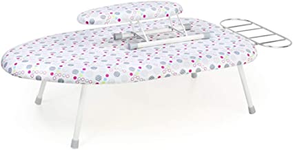 Multifunction Iron Board, Bedroom Small Desktop Fold Ironing Board Bed Computer Desk Ironing Rack, 60. (Color : #6, Size : -)
