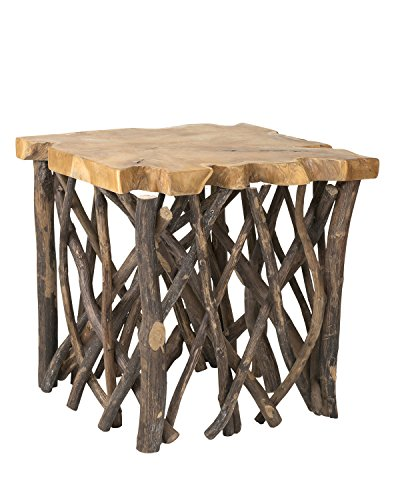 East at Main Leland Accent Table, 22' X 22' X 22', Brown