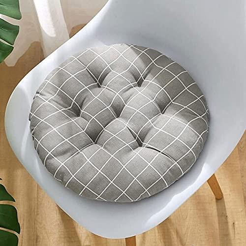 MGE - Cuscino rotondo per sedia da patio, cuscino per sedia da giardino, in stile bohémien, per ufficio, casa, bistrot e esterni (dimensioni: 45 x 45 cm, colore: 11)