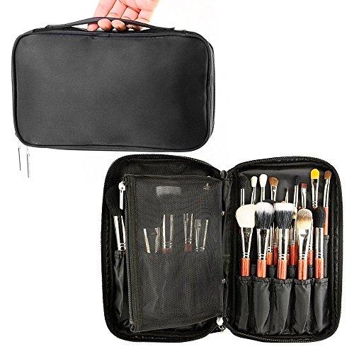 Brosse de Maquillage professionnels Organiseur maquilleur Coque avec sangle de ceinture support multifonctionnel Sac de maquillage Sac à main pour voyage Home